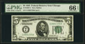 Small Size:Federal Reserve Notes, Fr. 1950-G $5 1928 Federal Reserve Note. PMG Gem Uncirculated 66 EPQ.. ...