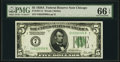 Small Size:Federal Reserve Notes, Fr. 1951-G $5 1928A Federal Reserve Note. PMG Gem Uncirculated 66 EPQ.. ...
