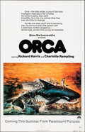 """Movie Posters:Thriller, Orca & Other Lot (Paramount, 1977). Folded, Overall: Very Fine-. One Sheets (5) (27"""" X 41"""") Advance, John Berkey Artwork. Th... (Total: 5 Items)"""