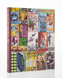 FAILE X Gestalten Works on Wood, Special Edition, 2014 Hardcover book 12-1/2 x 10 x 2 inches (31.8 x 25.4 x 5.1 cm)
