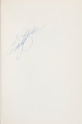 Books:Signed Editions, McDonald's Founder Ray Kroc Signed Copy of Grinding It Out...