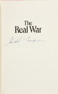 Books:Signed Editions, Richard Nixon Signed Copy of The Real War....
