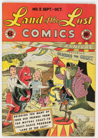 Land of the Lost Comics #2 (EC, 1946) Condition: FN+