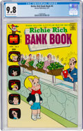 Bronze Age (1970-1979):Humor, Richie Rich Bank Books #4 (Harvey, 1973) CGC NM/MT 9.8 Off-white to white pages....