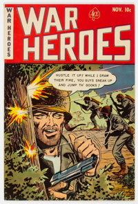 War Heroes (Ace) #5 (Ace, 1952) Condition: VF-