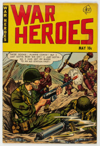 War Heroes (Ace) #1 (Ace, 1952) Condition: FN