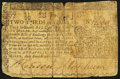 Colonial Notes:Maryland, Maryland March 1, 1770 $2/3 Very Good.. ...
