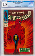 Silver Age (1956-1969):Superhero, The Amazing Spider-Man #50 (Marvel, 1967) CGC VG- 3.5 Off-white to white pages....