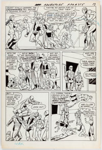 Jim Shooter, Curt Swan, and George Klein Adventure Comics #355 Story Page 11 Original Art (DC, 1967)