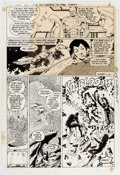 Original Comic Art:Panel Pages, Keith Giffen and Larry Mahlstedt The Legion of Super-Heroes #293 Story Page 3 Original Art (DC, 1982)....