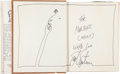 Books:Signed Editions, Shel Silverstein Inscribed and Signed Copy of Where the Sidewalk Ends....
