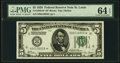 Small Size:Federal Reserve Notes, Fr. 1950-H* $5 1928 Federal Reserve Note. PMG Choice Uncirculated 64 EPQ.. ...