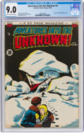 Golden Age (1938-1955):Horror, Adventures Into The Unknown #9 (ACG, 1950) CGC VF/NM 9.0 Cream to off-white pages....