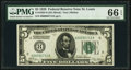 Small Size:Federal Reserve Notes, Fr. 1950-H $5 1928 Federal Reserve Note. PMG Gem Uncirculated 66 EPQ.. ...