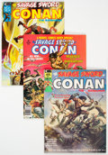 Magazines:Adventure, Savage Sword of Conan Short Box Group (Marvel, 1974-82) Condition: Average VF....