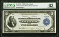 Large Size:Federal Reserve Bank Notes, Low Serial Number D495A Fr. 757 $2 1918 Federal Reserve Bank Note PMG Choice Uncirculated 63.. ...
