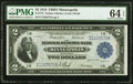 Large Size:Federal Reserve Bank Notes, Fr. 772 $2 1918 Federal Reserve Bank Note PMG Choice Uncirculated 64 EPQ.. ...
