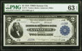 Low Serial Number J109A Fr. 774 $2 1918 Federal Reserve Bank Note PMG Choice Uncirculated 63 EPQ