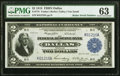 Fr. 776 $2 1918 Federal Reserve Bank Note PMG Choice Uncirculated 63