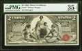 Large Size:Silver Certificates, Fr. 247 $2 1896 Silver Certificate PMG Choice Very Fine 35 EPQ.. ...