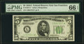 Fr. 1957-L* $5 1934A Federal Reserve Note. PMG Gem Uncirculated 66 EPQ