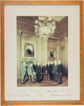 Autographs:Statesmen, Warren Supreme Court Photograph Signed By All Nine Justices....