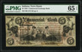 Obsoletes By State:Indiana, Terre Haute, IN- Commercial Exchange Bank $5 Aug. 3, 1858 PMG Gem Uncirculated 65 EPQ, POC.. ...
