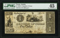 Obsoletes By State:Texas, Austin, TX- Republic of Texas $1 Mar. 1, 1841 Cr. A1 Medlar 21 PMG Choice Extremely Fine 45.. ...