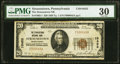 Strausstown, PA - $20 1929 Ty. 1 The Strausstown National Bank Ch. # 10452 PMG Very Fine 30