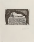 Prints & Multiples, Jasper Johns (b. 1930). Light Bulb, 1976. Lithograph on J. Whatman paper. 6-1/4 x 9-3/8 inches (15.9 x 23.8 cm) (image)...
