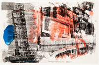Robert Rauschenberg (1925-2008) Sub Total, from Stoned Moon Series, 1971 Lithograph in co