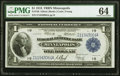 Large Size:Federal Reserve Bank Notes, Fr. 736 $1 1918 Federal Reserve Bank Note PMG Choice Uncirculated 64.. ...