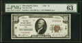 Davenport, IA - $10 1929 Ty. 1 The First National Bank Ch. # 15 PMG Choice Uncirculated 63 EPQ