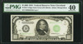 Fr. 2211-D $1,000 1934 Dark Green Seal Federal Reserve Note. PMG Extremely Fine 40