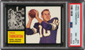 Football Cards:Singles (1960-1969), 1962 Topps Fran Tarkenton #90 PSA NM-MT+ 8.5. ...
