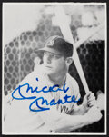 Autographs:Photos, Mickey Mantle Signed Photograph. Offered is a 3x4...
