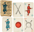 "Baseball Cards:Sets, 1884 Lawson's ""Base Ball"" Playing Cards Complete Set (38). ..."