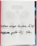 Autographs:Others, New York Giants 75th Anniversary Multi-Signed Book.