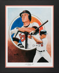 Autographs:Others, Cal Ripken Jr. Signed Display. Offered is a print...