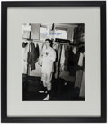 Autographs:Photos, Joe DiMaggio Signed, Framed Photograph. Offered i...