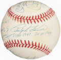 Autographs:Baseballs, National League 50-Home Run Club Multi-Signed Baseball.