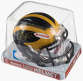Autographs:Others, Jabrill Peppers Signed Michigan Mini Helmet. Offer...
