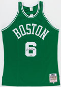 Autographs:Jerseys, Bill Russell Signed Jersey. Bill Russell was the c...