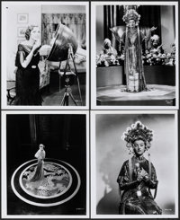 "Myrna Loy in The Mask of Fu Manchu (1970s). Very Fine+. Restrike Photos (4) (8"" X 10""). Horror. ... (Total: 4..."