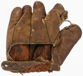 Baseball Collectibles:Others, Vintage Baseball Glove. Offered is a vintage baseb...