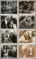 """Movie Posters:Horror, The Bride of Frankenstein (Realart, R-1940s). Fine/Very Fine. Photos (12) (7"""" X 9"""" & 8"""" X 10""""). Horror.. ... (Total: 12 Items)"""