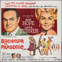 """Bachelor in Paradise (MGM, 1961). Folded, Very Fine. Six Sheet (79.5"""" X 79""""). Comedy"""