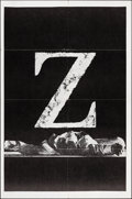 """Movie Posters:Foreign, Z (Cinema 5, 1969). Folded, Very Fine+. One Sheet (27"""" X 41""""). Foreign.. ..."""