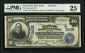 National Bank Notes:New York, New York, NY - $10 1902 Date Back Fr. 617 The Seaboard National Bank Ch. # (E)3415 PMG Very Fine 25.. ...