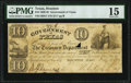 Obsoletes By State:Texas, Houston, TX- Government of Texas $10 Feb. 2, 1839 Cr. H17 PMG Choice Fine 15.. ...